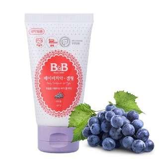 B&B Baby Toothpaste, Grape (Gel Type)