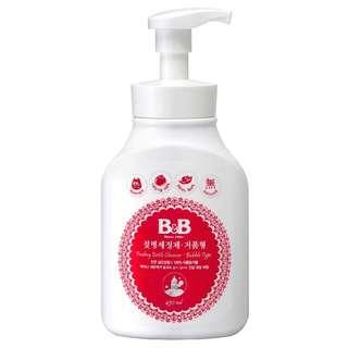 B&B Feeding Bottle Cleanser (Bubble Type, Bottle)