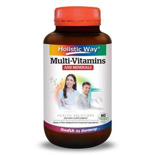 Holistic Way Multi-Vitamins And Minerals