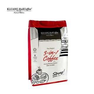 Original Kluang Rail Coffee 3 in 1 Kaw
