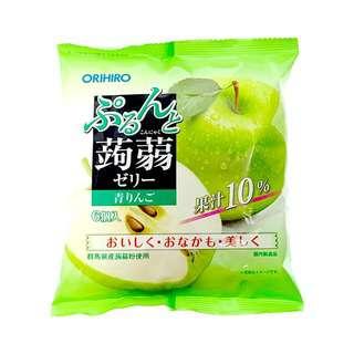 Orihiro Purun To Konnyaku Jelly Green Apple
