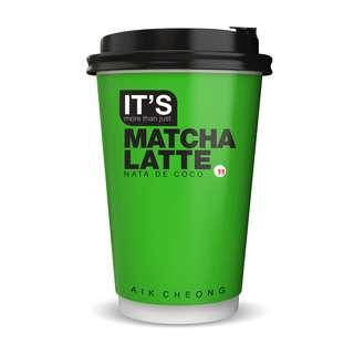 Aik Cheong IT'S Matcha Latte Nata De Coco