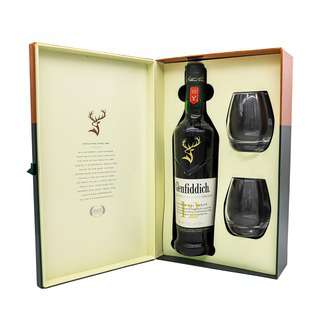 Glenfiddich 12 Years Old Single Malt Whisky Giftset