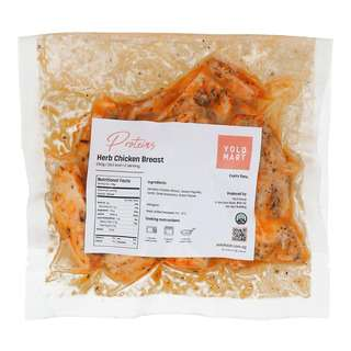 YOLO Healthy Food Herb Chicken Breast 250 G