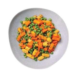 YoloFoods. Cajun Roasted Mixed Veggies