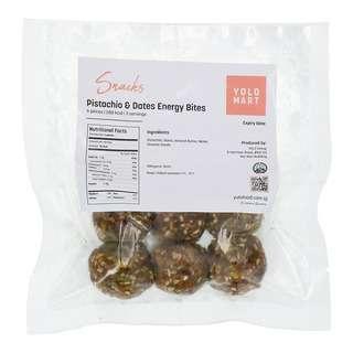 YoloFoods. Pistachios and Dates Energy Bites (6 Pcs)