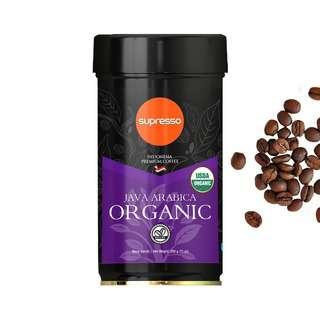 Supresso Java Arabica Organic Coffee Beans
