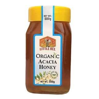 Little Bee Organic Acacia Natural Honey