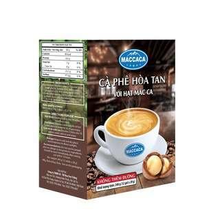 Maccaca Instant Coffee No Sugar