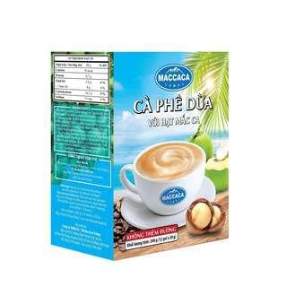 Maccaca Coconut Coffee No Sugar