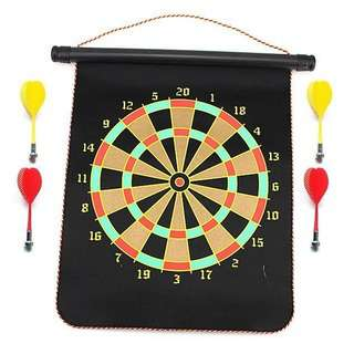 United Sports Magnetic Dartboard, 18-inch,
