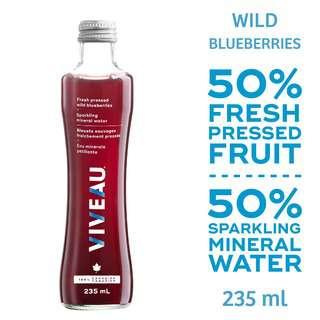 Viveau Fresh Pressed Wild Blueberries 235ML
