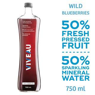 Viveau Fresh Pressed Wild Blueberries750ML