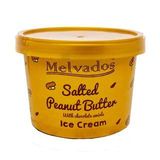MELVADOS Salted Peanut Butter with Chocolate Ice Cream