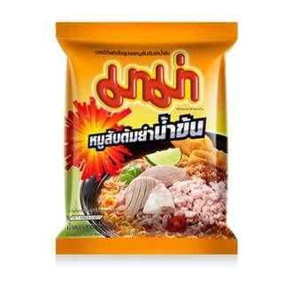 MAMA Creamy Tom Yum Minced Pork Instant Noodles 55g
