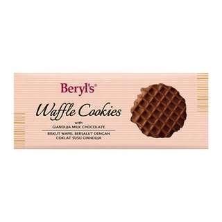 Beryl's Waffle Cookies Coated With Gianduja Milk Choc