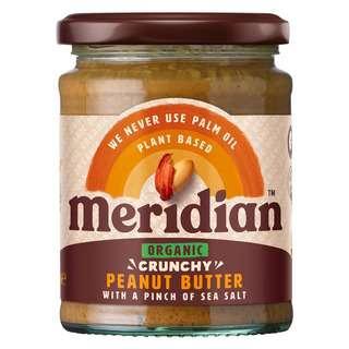 Meridian Organic Crunchy  Peanut Butter With A Pinch Of Salt