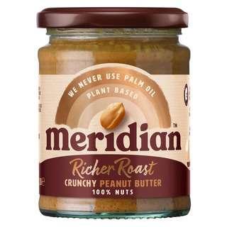 Meridian Richer Roast Crunchy Peanut Butter , 280g