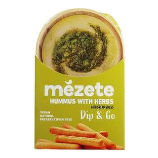 Mezete Dip & Go Herb Hummus, 92g