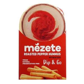 Mezete Dip & Go Roast Pepper Hummus, 92g