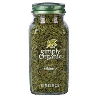 Simply Organic Cilantro, 27g