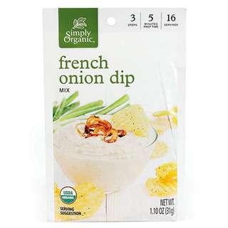 Simply Organic French Onion Dip Mix, 31g