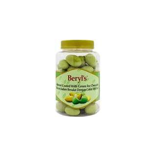 Beryl's Jar Almond Coated With Green Tea Chocolate