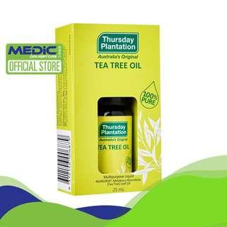 THURSDAY PLANTATION Tea Tree Oil 25 Ml - By Medic Drugstore