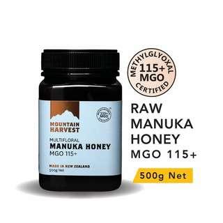 Mountain Harvest Manuka Honey MGO 115+