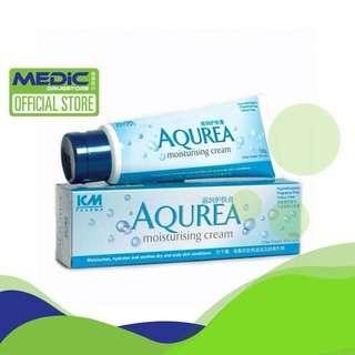 ICM Pharma AQUREA Moisturising Cream 100G - By Medic Drugstor