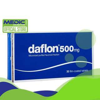 DAFLON 500Mg 30 Film-Coated Tablets - By Medic Drugstore