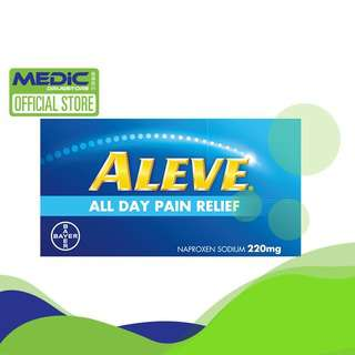 Aleve 12S Fast-Acting Anti-Inflammatory - By Medic Drugstore