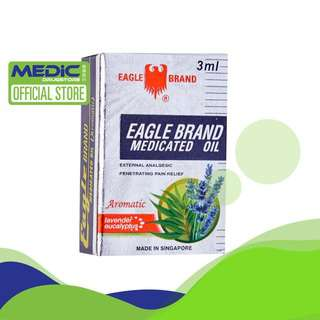Eagle Medicated Oil Aromatic 3Ml - By Medic Drugstore