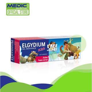 Elgydium Kids Fresh Strawberry Ice Age Toothpaste 50ml