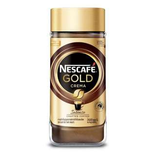 Nescafe Gold Crema Intense Crafted Coffee Extra Fine 200g