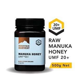Mountain Harvest Manuka Honey UMF 20+