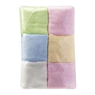 LoveSprings Bamboo fiber face towel - mixed colours