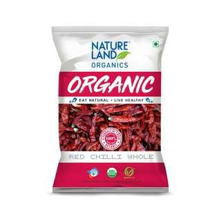 Natureland Organics Red Chilli Whole