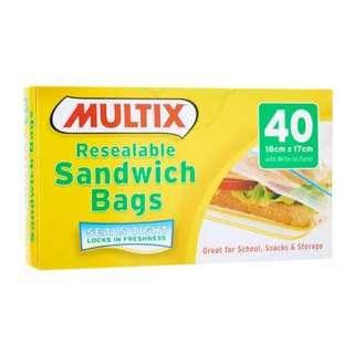 Multix Resealable Sandwich Bag Dispenser