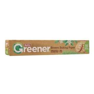 Multix Greener Brown Baking Paper 15m x 30cm