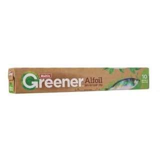 Multix Greener 100% Recycled Alfoil 10m x 30cm
