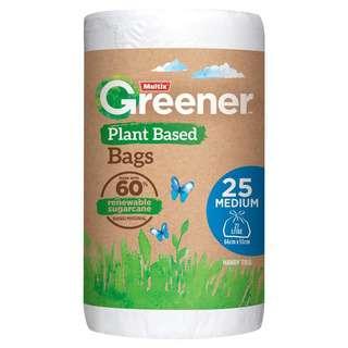 Multix Greener Plant Based Bag Medium 25