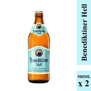 Benediktiner Hell Lager bier 2's