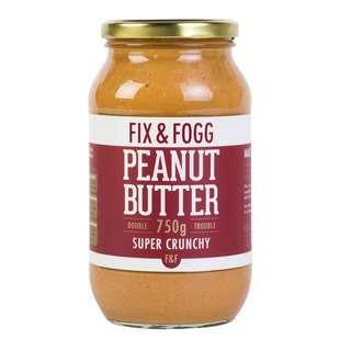 Fix & Fogg Peanut Butter - Super Crunchy Double Trouble
