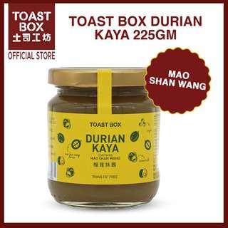 Toast Box Mao Shan Wang Kaya