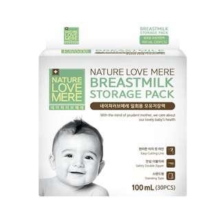 Nature Love Mere Breastmilk Storage Bag 100ml