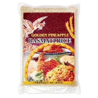 Golden Pineapple India Super Long Basmati Rice (Vacuum Pack)