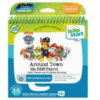 LeapFrog LeapStart 3D Book - Around Town with PAW Patrol