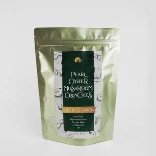 The Mushroom Farm Pearl Oyster Crunchies Garlic & Onion
