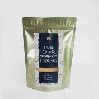 The Mushroom Farm Pearl Oyster Crunchies Lightly Salted
